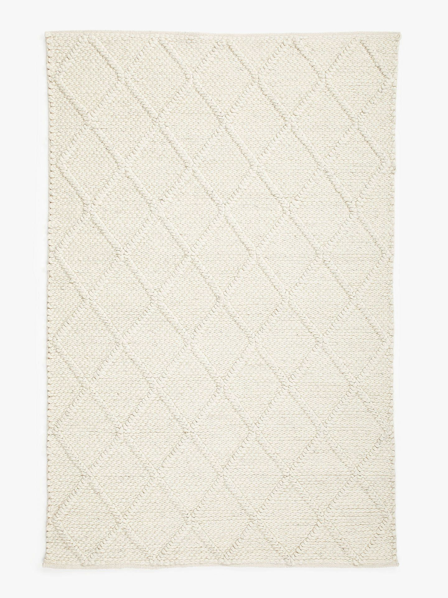 John Lewis Guernsey Rug Ivory In 2019 Thread Rugs