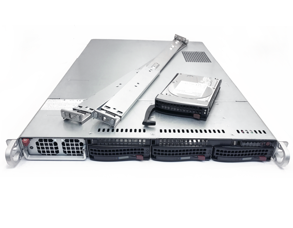 GPU Server 1U Supermicro 3 Bay LFF Server | Great Deals! | Software