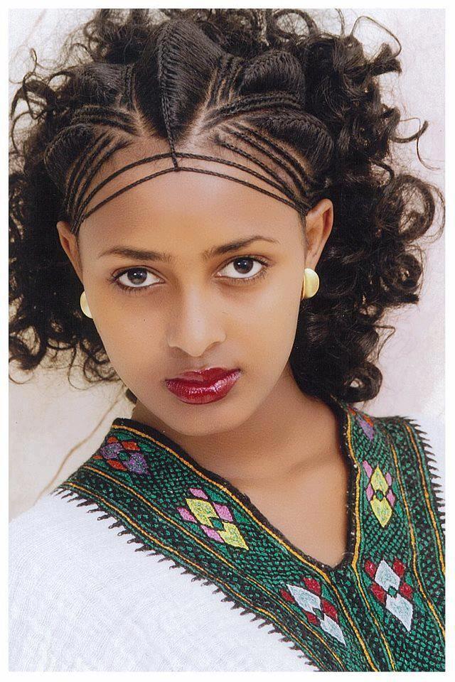 Ethiopian Hairstyle Ethiopian Hair Hair Styles Ethiopian Braids