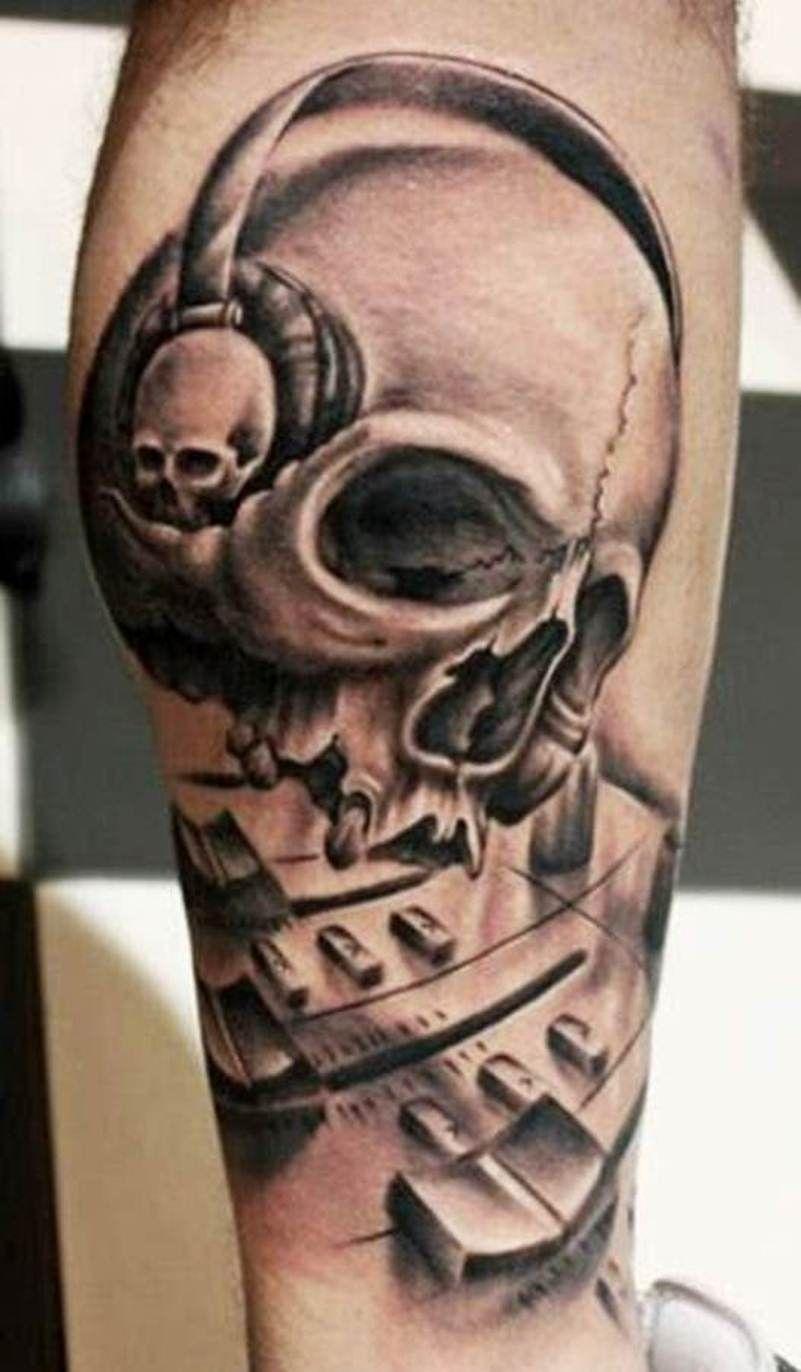 Best skull tattoos for men tattoo half sleeves tattoo for Pictures of skull tattoos