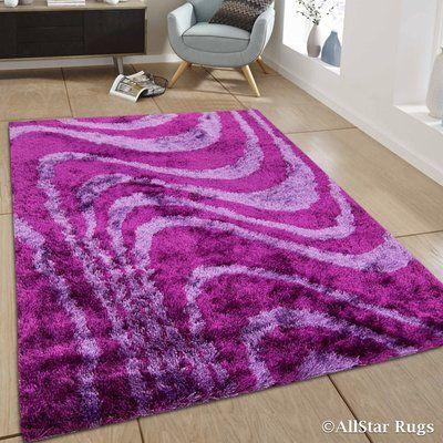 Allstar Rugs Hand Tufted Purple Pink Area Rug Purple Area Rugs