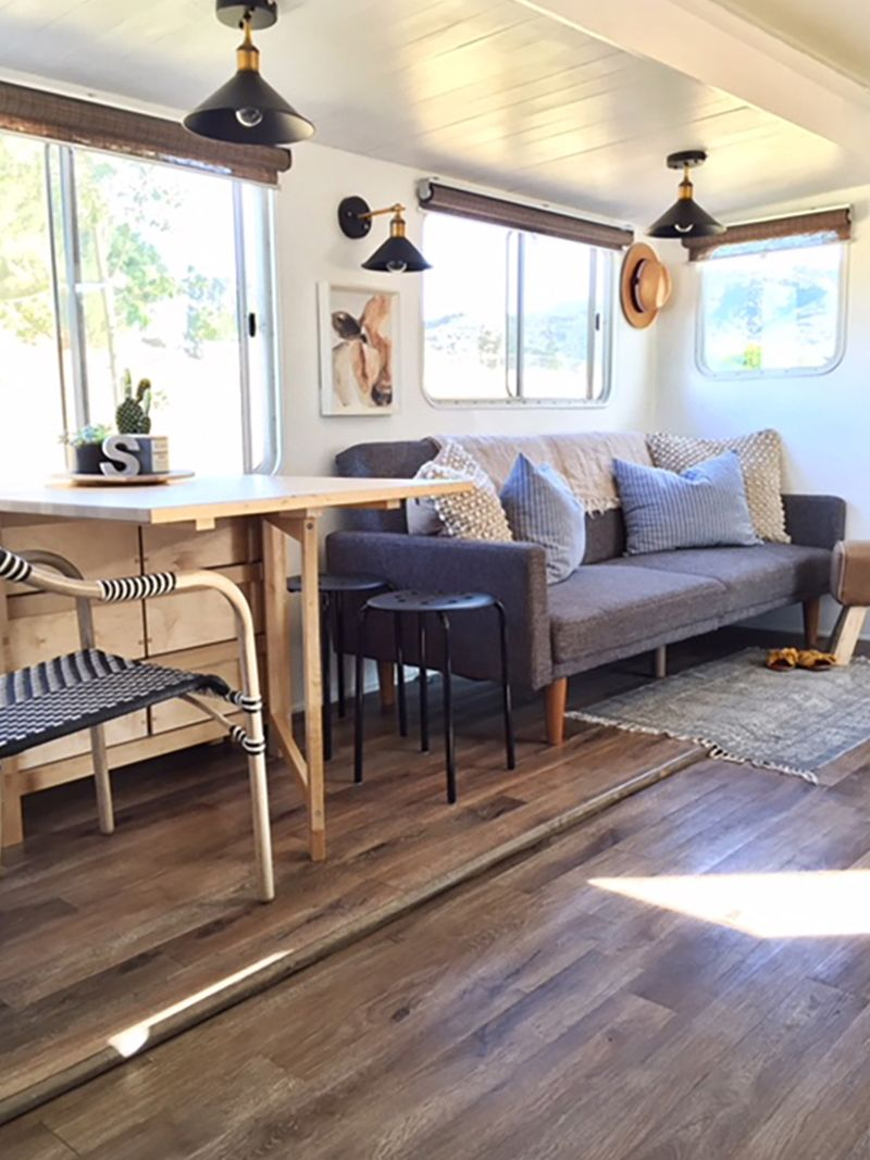 California country travel trailer renovation with images