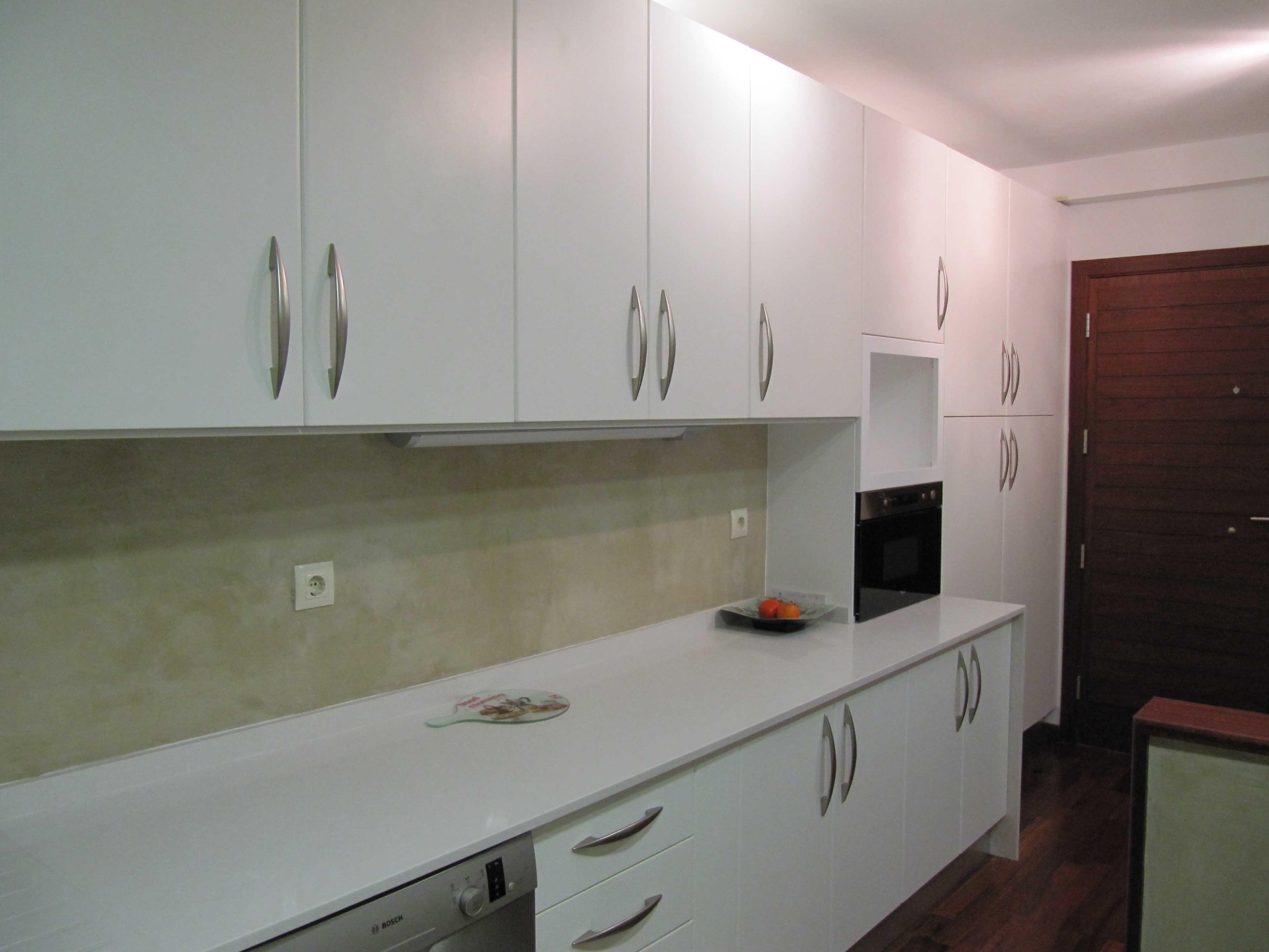 La pared de tu cocina con microcemento para darle un aire original cocinas pinterest - Paredes de microcemento ...