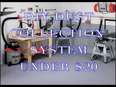 How To Make A Diy Dust Collector For Your In 2020