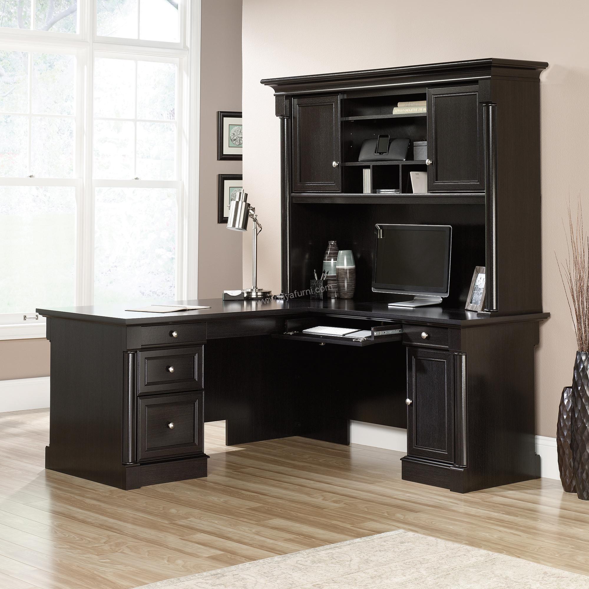 Meja Kerja Sudut Model L Yaitu Produk Meja Kantor Dengan