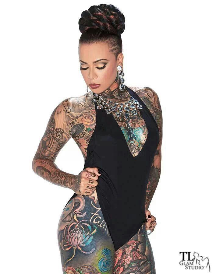 Britanie girard tatttttt pinterest tattoo tatting for Full body tattoo women