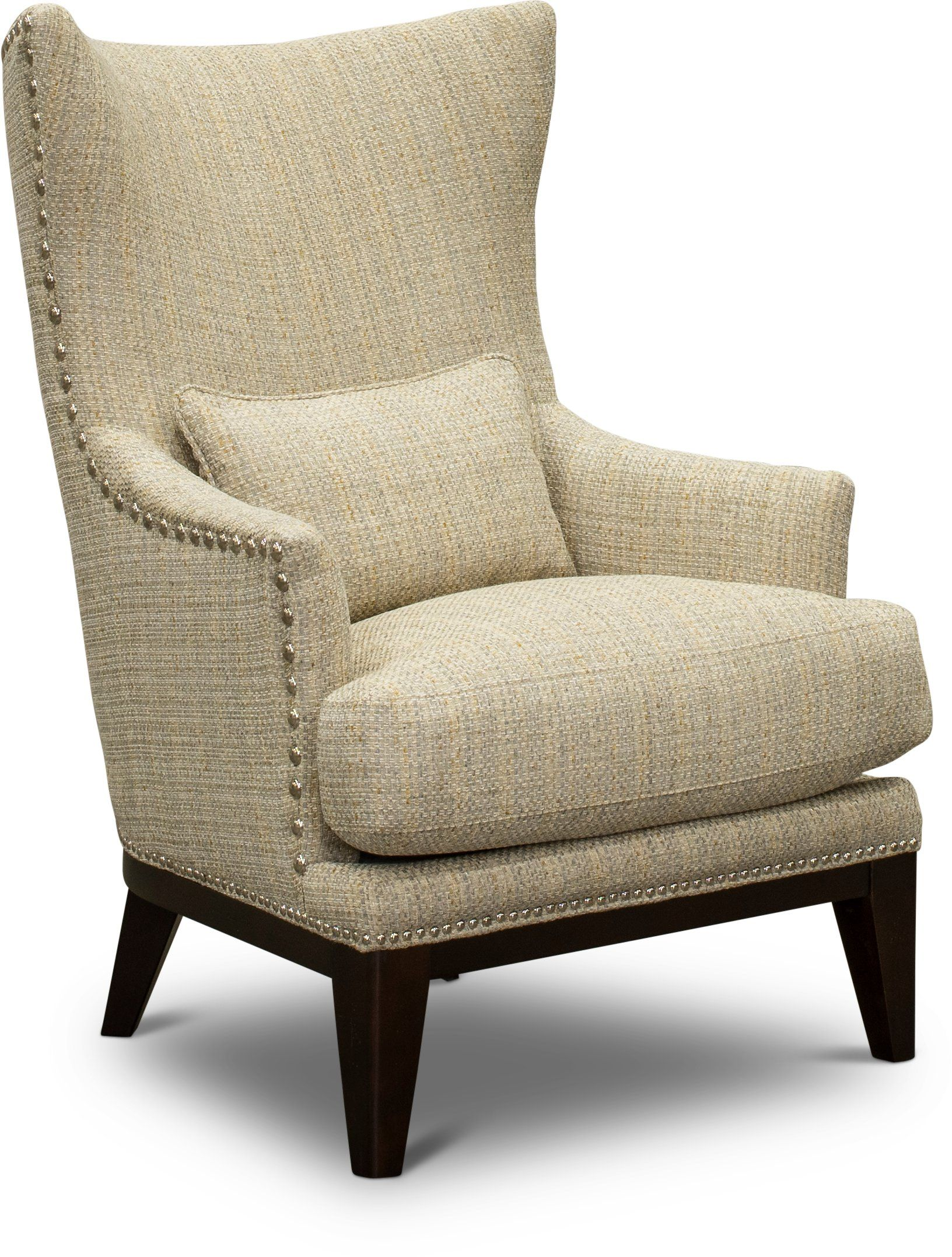 Classic Modern Tan And Gray Accent Chair Luxe Grey Accent