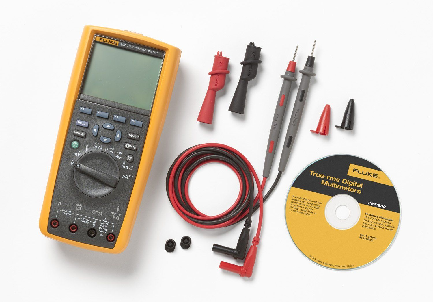Fluke 287 TrueRMS Stand Alone Logging Multimeter *** You can ... on