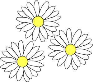 Pin by Jean Gholston on Embroidery designs | Flower ... White Daisy Flowers Clipart