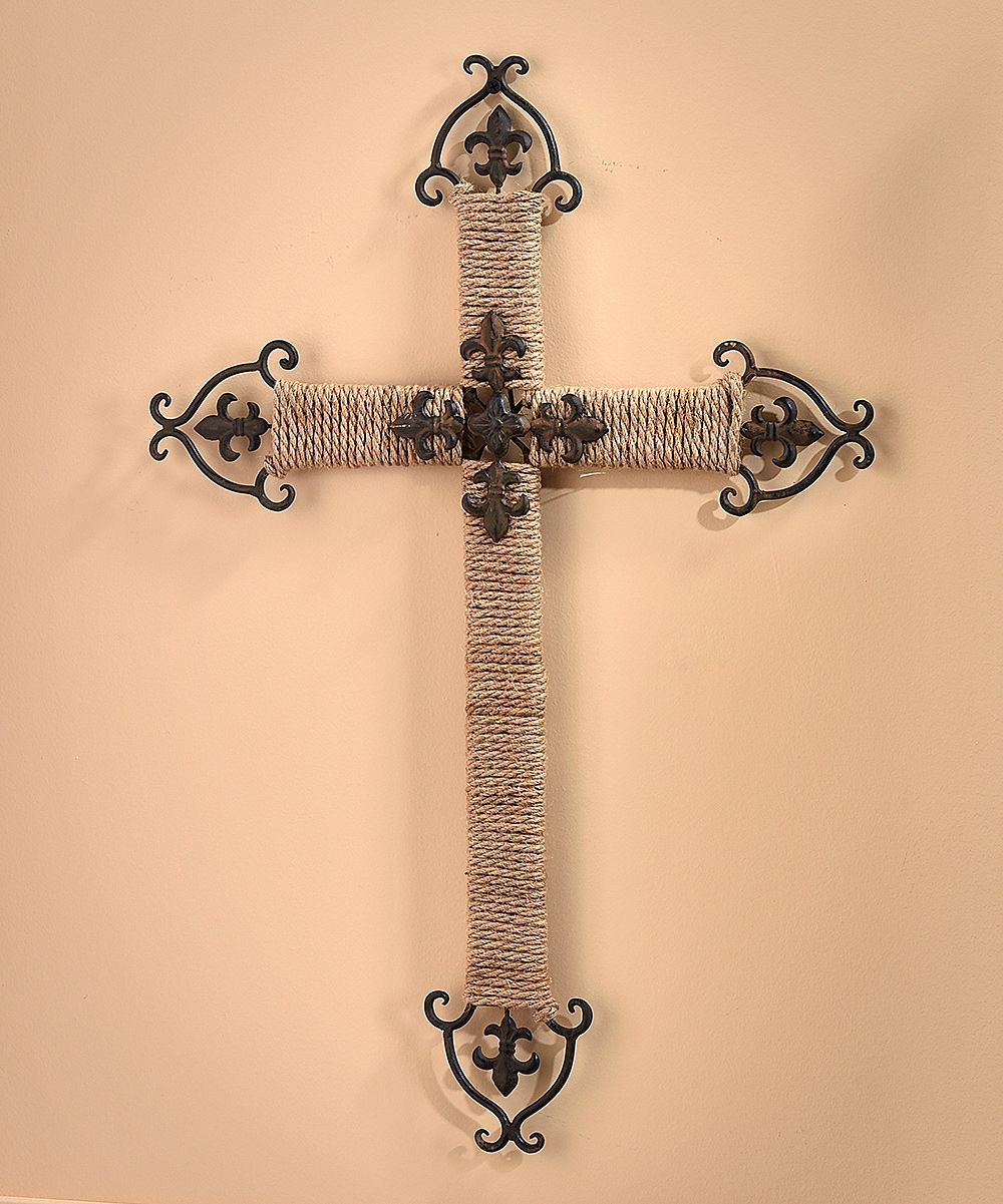 Colorful Wall Decor Metal Cross Mold - All About Wallart ...