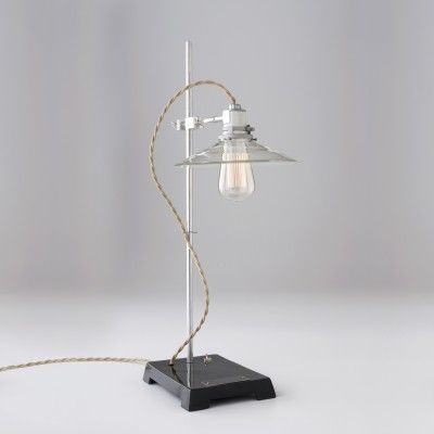 Task Lab Lamp from Schoolhouse Electric & Supply Co.