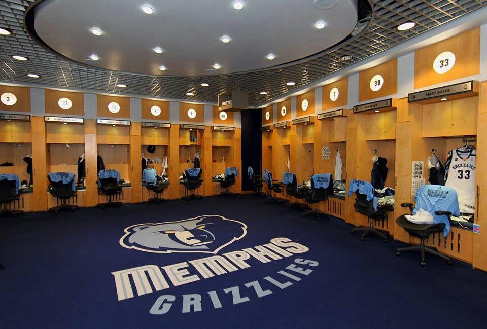 Locker room Memphis grizzlies, Basketball, Locker room