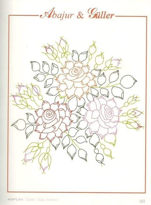 Pin de Floriana Fernandez en Bordado cinta de seda   Pinterest ...