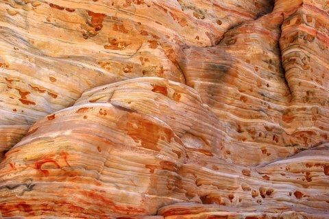 Intriguing wall in Zion National Park, Utah