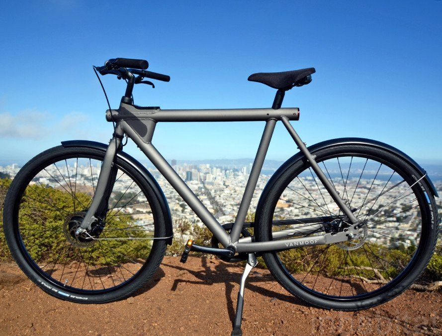 The Vanmoof Electrified Is A Smart Stylish And Stealthy Electric Dream Bike Fietsen Fiets Vervoer