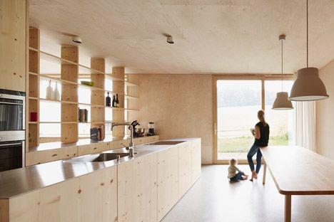innauer‐matt architekten, vorarlberg, austria. [kitchen/dining, Innenarchitektur ideen