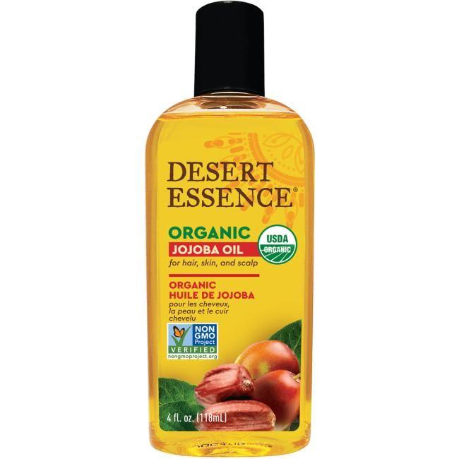 Desert Essence Organic Jojoba Oil | 4 fl oz Liquid