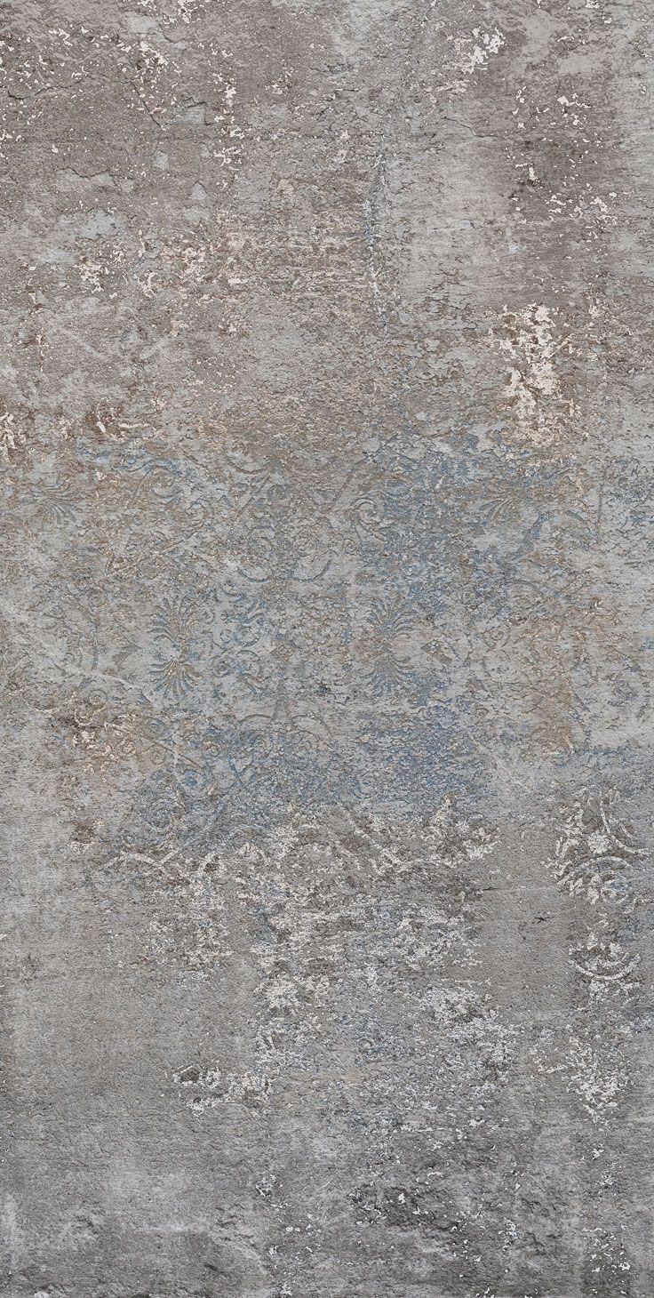 Carta Da Parati Texture carta da parati / wall paper: camelot - grey blue