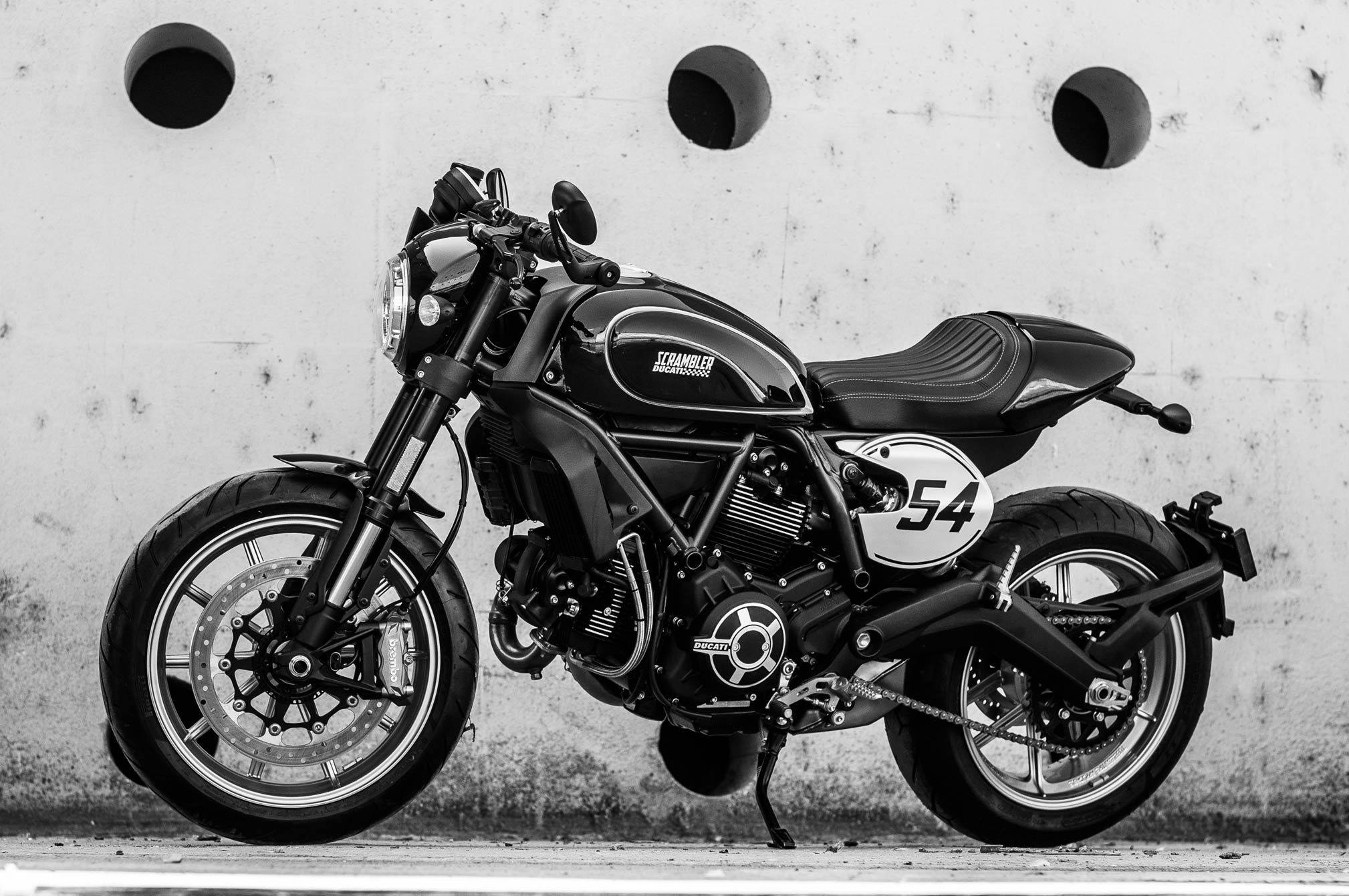 2018 Ducati Scrambler Cafe Racer Review FROM CAFE TO CAFE 2018