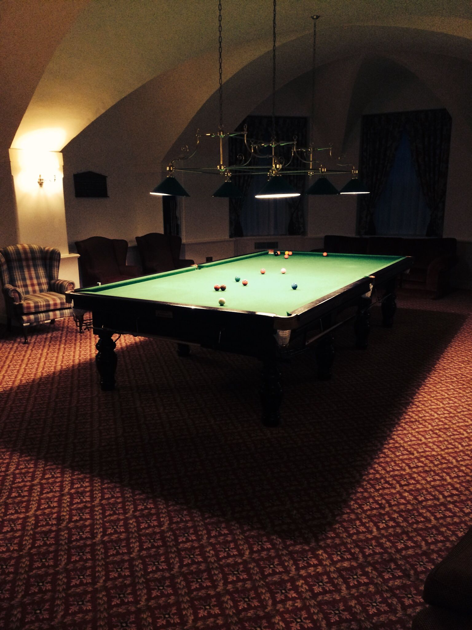 Snooker Room Snooker Room Billiard Room Billiards