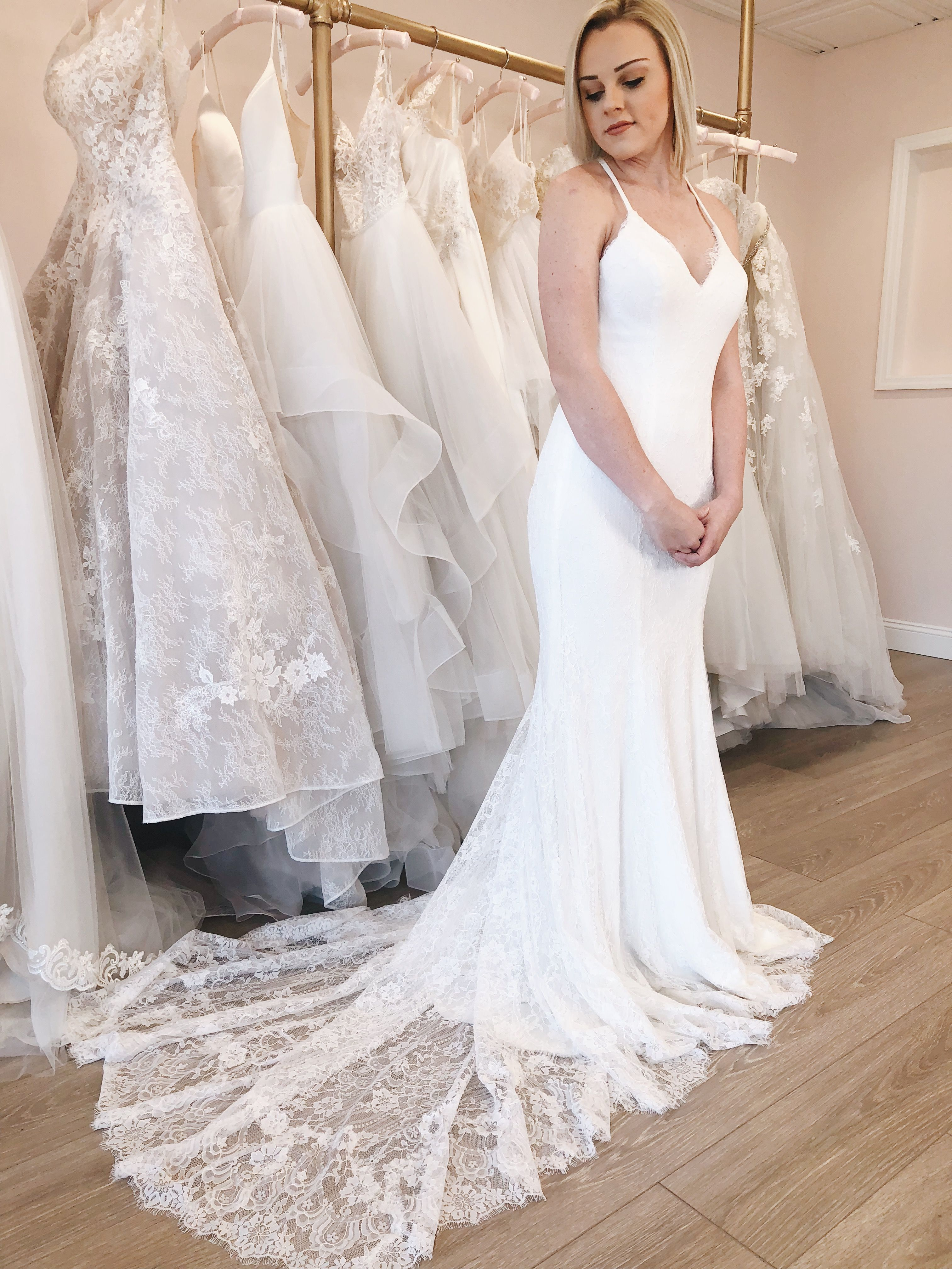 6746325f547f The Angelina gown is absolutely perfect for a #boho bride or a  #beachwedding! #bride #engaged #weddingdress