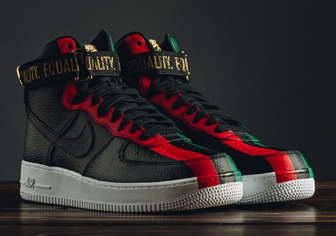 Nike Air Force 1 High BHM Release Reminder  thatdope  sneakers  luxury  dope   fashion  trending cef7e4c87