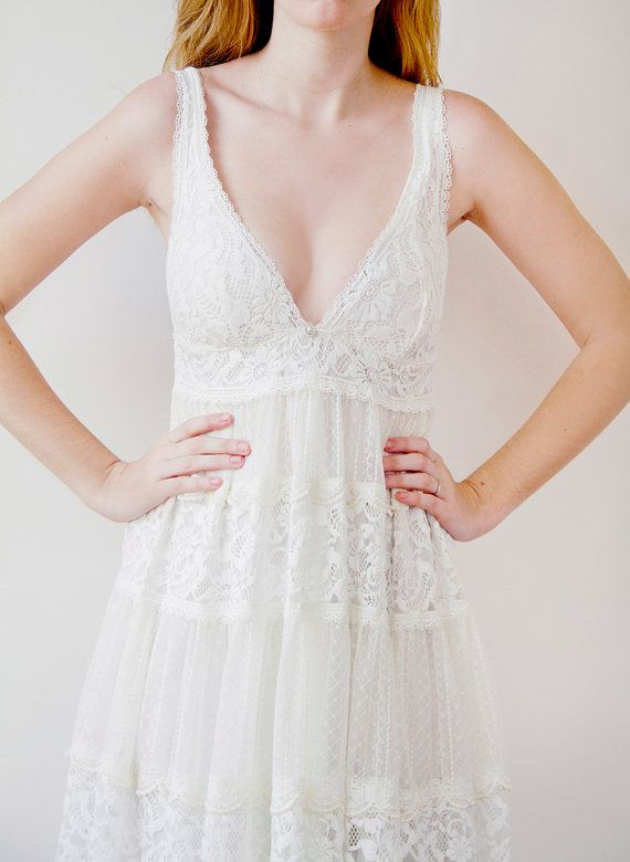Romantic babydoll style French lace Bohemian by Graceloveslace great ...