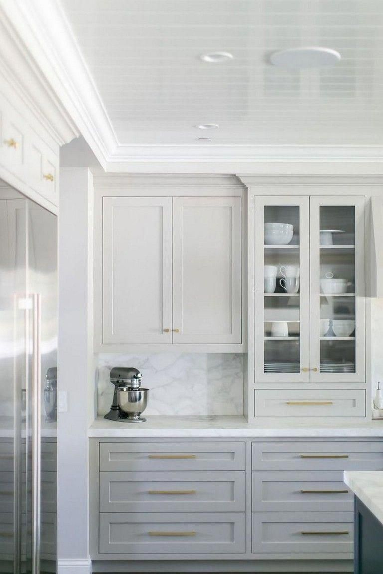 53 Cool White Cabinet Kitchen Backsplash Tile Pattern Ideas