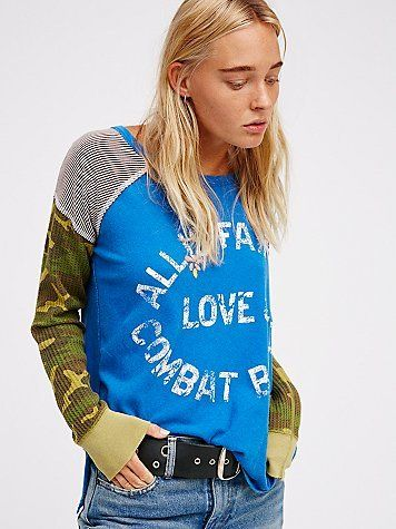 Combat Tee by We The Free at Free People