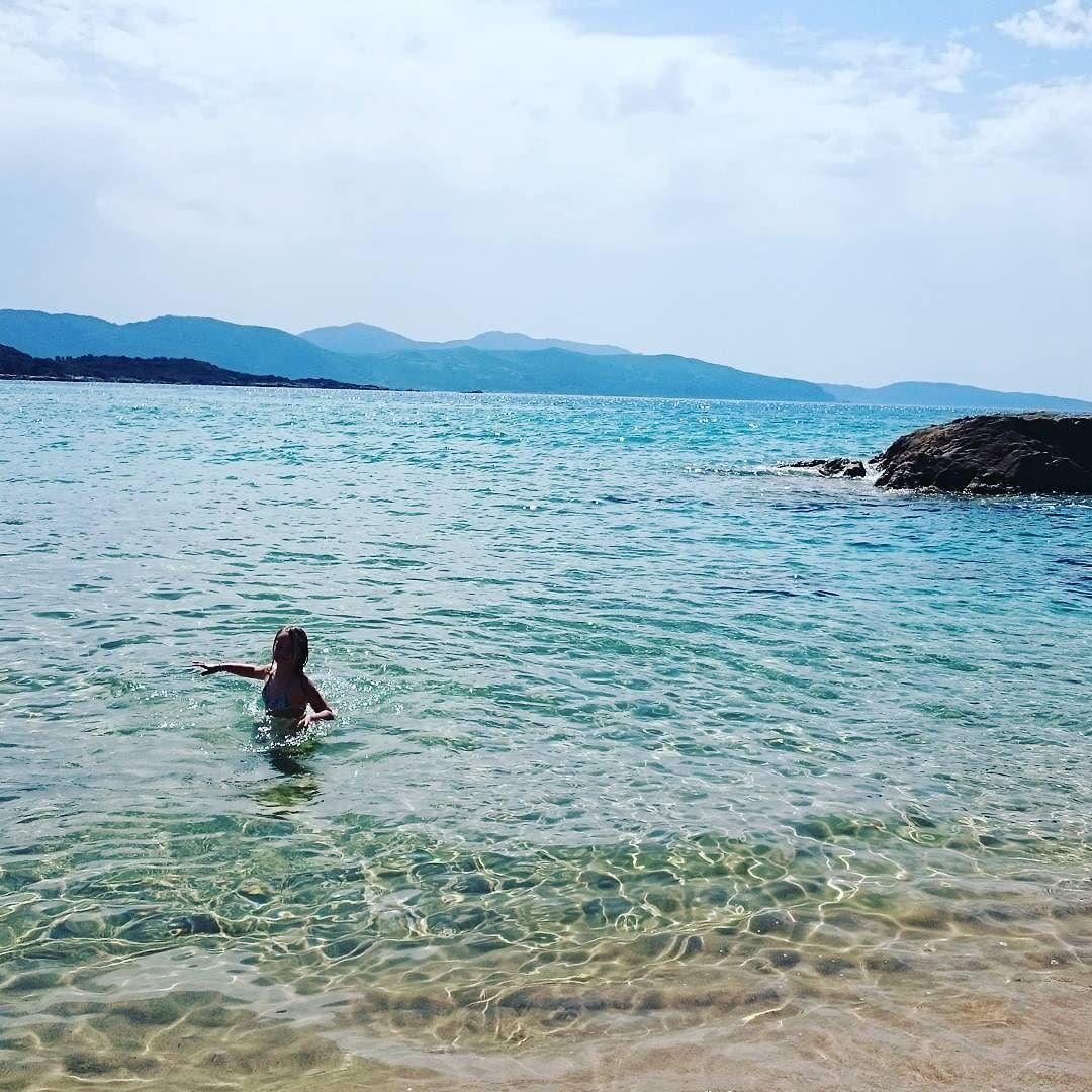 #firstbeach #sagone #Corse  by bmattei22