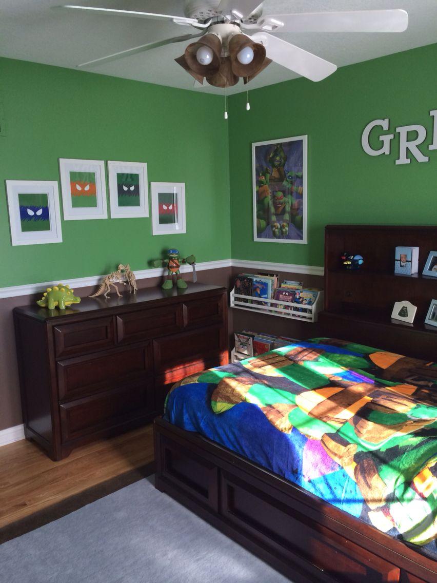 Ninja Turtle Bedroom Furniture Ninja Turtle Room Ninja Turtle Room Gregory Pinterest