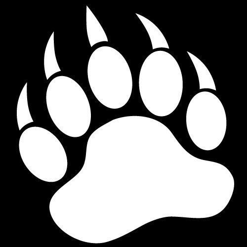 Bear Paw Clipart Black And White Clipart Panda Free Clipart Images