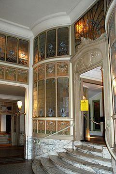 Art Nouveau En Belgique Wikipedia Interieur Art Nouveau Art Nouveau Architecture Art Nouveau