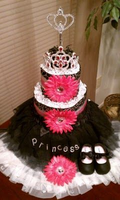 Love Diaper Cakes Who Is Having A Girli Wanna Buy All The