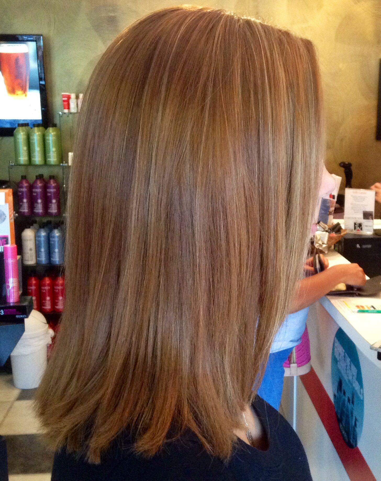 Copper Blonde Hair Highlights Red Blonde Redken Color Nails N