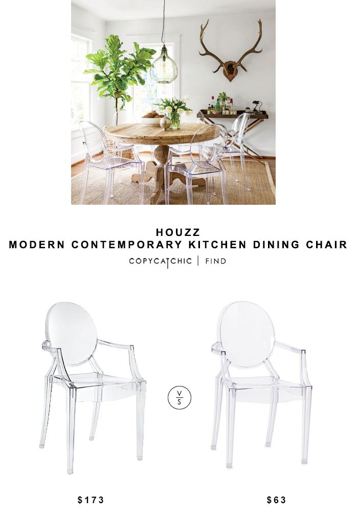 Houzz Modern Contemporary Kitchen Dining Chair Copycatchic Modern Contemporary Kitchen Contemporary Kitchen Dining Chairs
