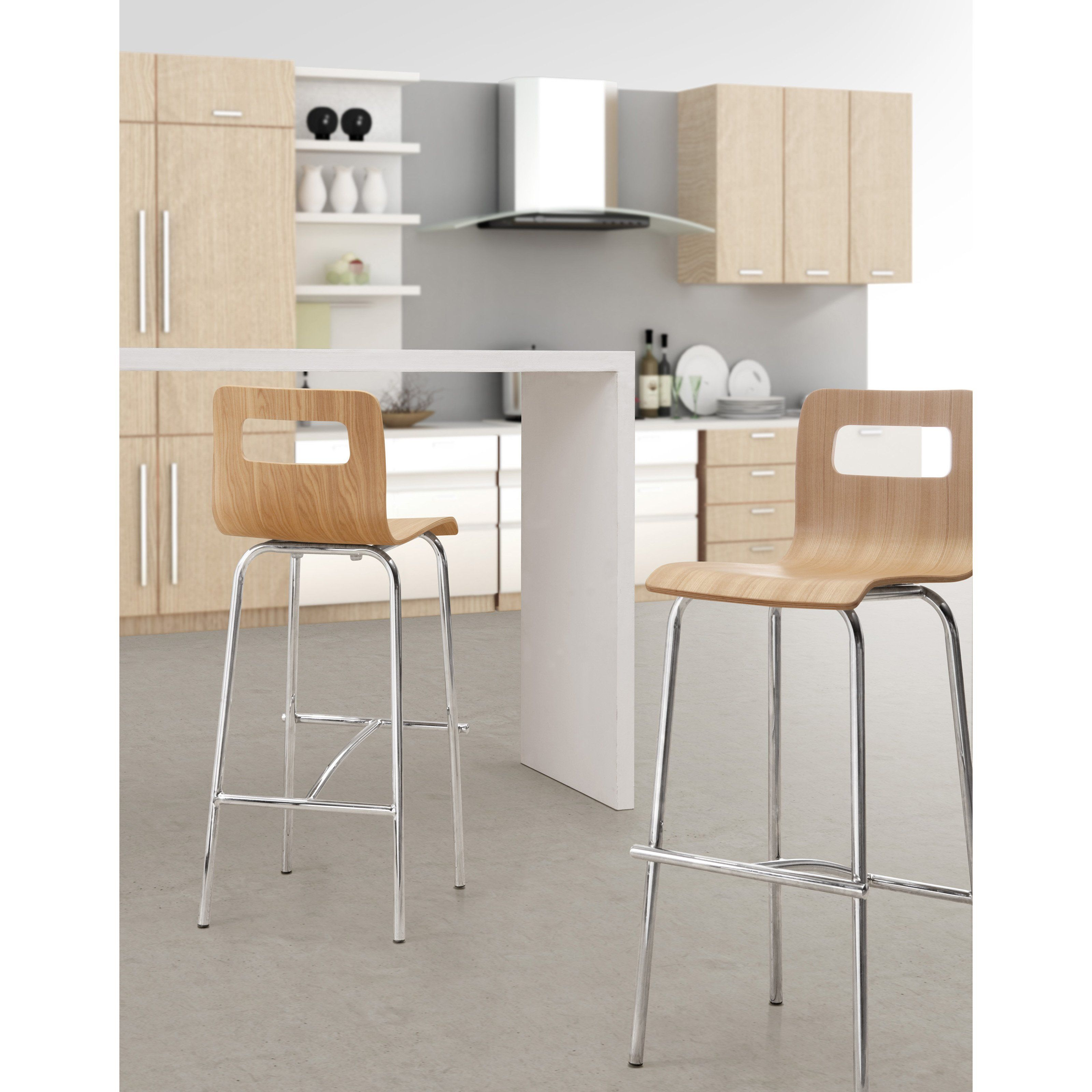 Zuo Modern Escape 30 in Bar Stools Living Room