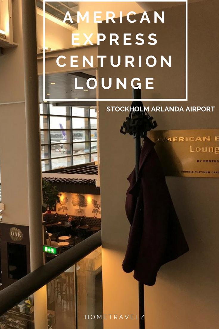 American Express Centurion Lounge in Stockholm Stockholm
