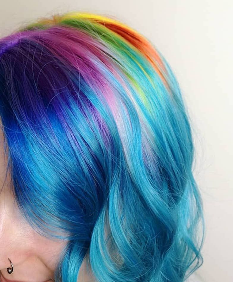 Pin On Pride Hair