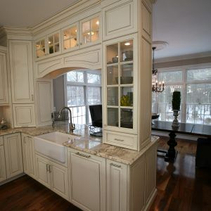 Double Sided Gl Kitchen Cabinets