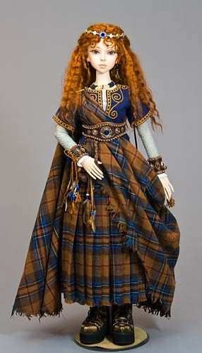 Doll from Antique Lilac