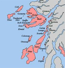 Inner Hebrides Map Inner Hebrides   follow the pin for population statistics and more