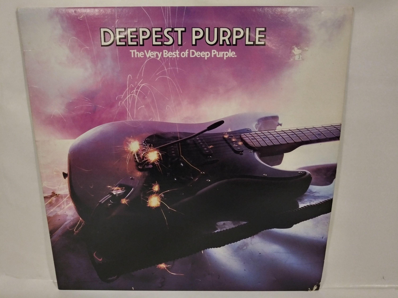 Deepest Purple The Very Best Of Deep Purple Nm Vinyl Record Etsy In 2020 Deep Purple Vinyl Records Purple