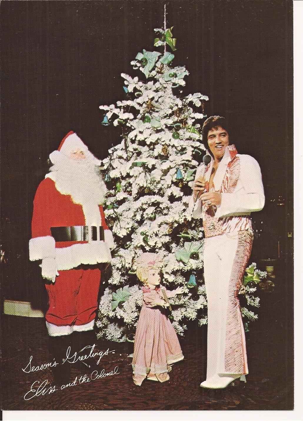 ELVIS ORIGINAL LAS VEGAS HILTON SHOW CARD COL PARKER SEASONS 1970\'S ...