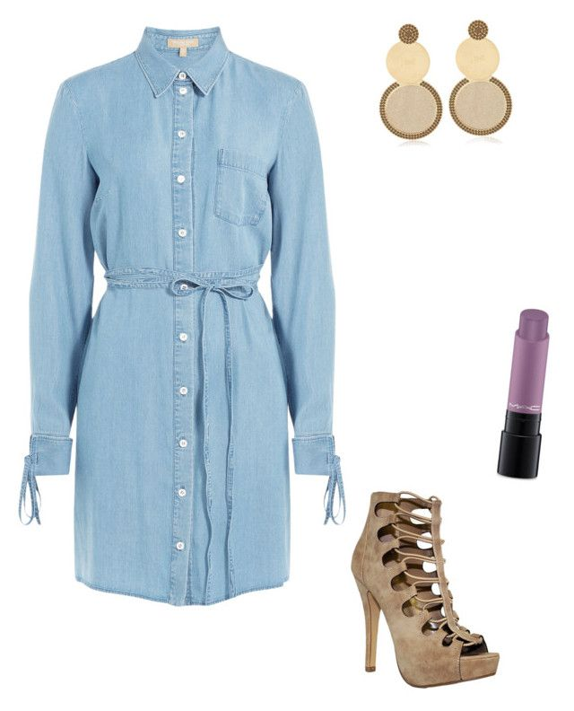 """Untitled #916"" by eshkapeesh on Polyvore featuring Michael Kors, Jení and MAC Cosmetics"