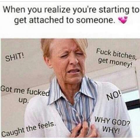 Catching Feelings Like Noooo Memes Faces Pinterest Funny