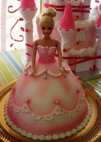 how to make a barbie cake without a mold