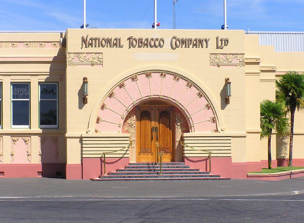 Napier 39 s art deco icon rothmans art nouveau deco for Deco hotel napier