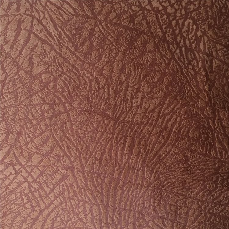 Suede Foil Bronzed Stamping Print Patterns New Design Tree Bark
