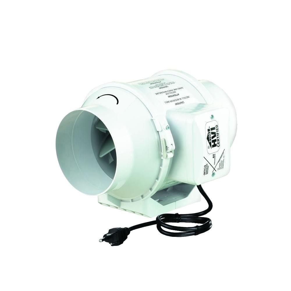 Vents 105 Cfm Power 4 In Mixed Flow In Line Duct Fan Tt 100 Bathroom Exhaust Vent Exhaust Fan Exhaust Vent